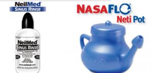 Free NeilMed Sinus Rinse or NasaFlo Neti Pot