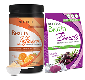 Free NeoCell and Derma e Beauty Samples