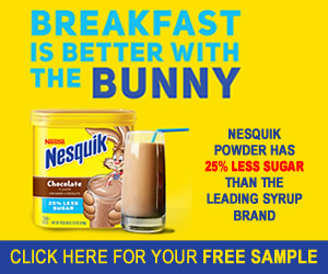 Free NESQUICK Sample Pack