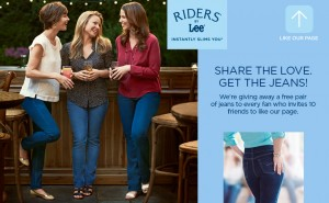 Free Pair of Riders by Lee Jeans (Refer Friends)