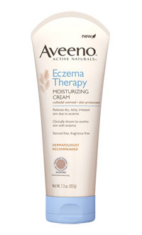 Free Aveeno Eczema Therapy Moisturizing Cream Sample and Wristband