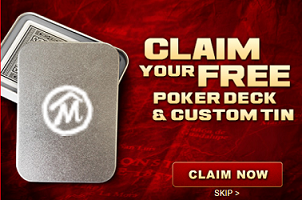 Free Poker Deck & Custom Tin from Marlboro
