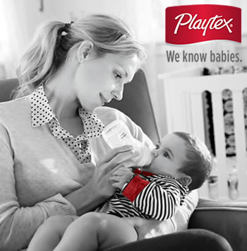 Free Playtex Baby Bottle & Nipple Variety Kit