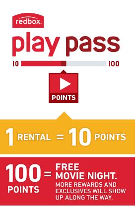 Free Redbox Movie Rentals with Redbox Play Pass