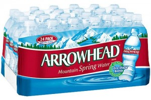 Free Case of Spring Water at Staples Stores