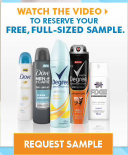 Free Unilever Product Sample