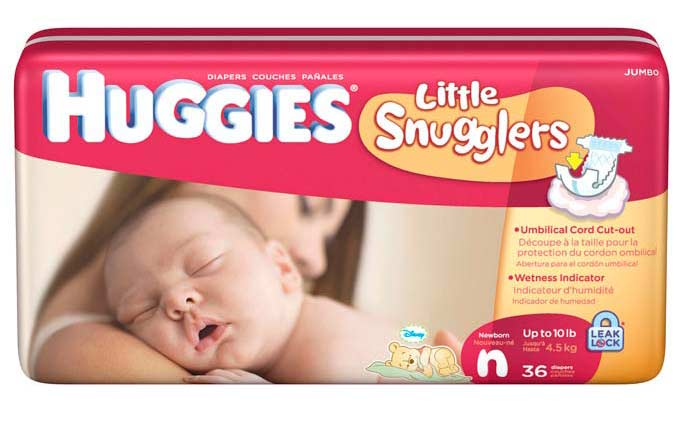 Free Huggies Little Snugglers Diapers Sample