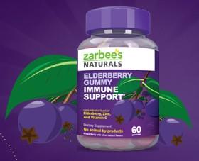 Free Zarbee's Gummy Immune Support Sample