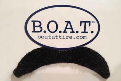 Free B.O.A.T. Attire Stickers