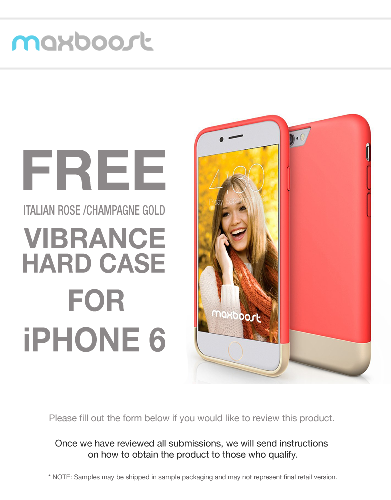 Free Maxboost Vibrance iPhone 6 Case