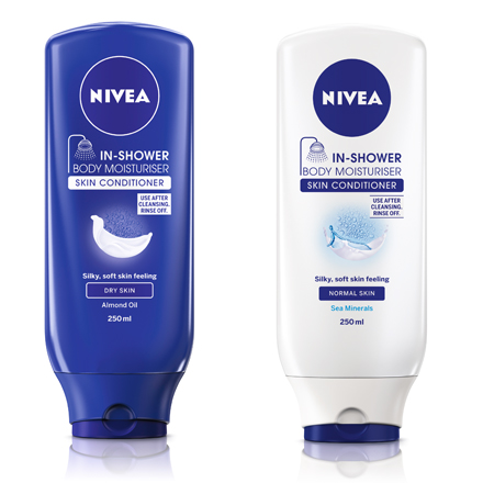 Free Nivea In Shower Body Lotion Sample