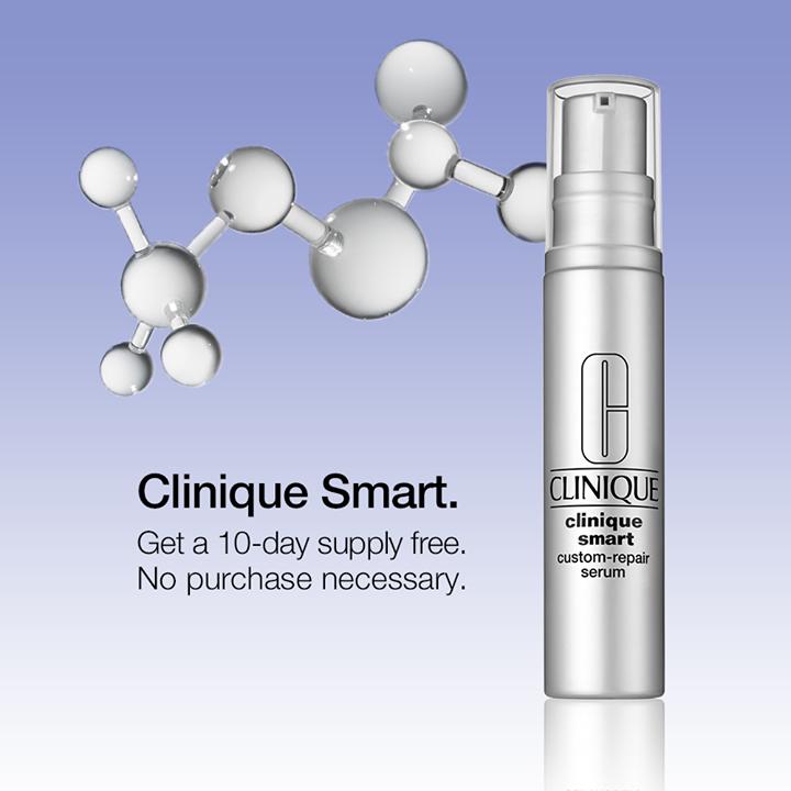 Free Clinique Smart Custom Repair Serum In Store