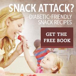 FREE Diabetic Snack Recipes Book