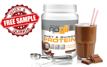 Free Sample of NoGii Whey & Quinoa Protein Powder