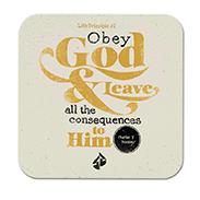 Free Life Principles Magnet: Obey God