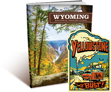 Free Yellowstone or Bust Sticker and Travel Guide