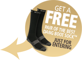 Free Pair of the Best Dang Boot Sock