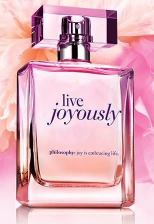 Free Philosophy Live Joyously Fragrance Sample (Expired)