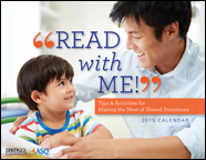 """Free 2015 """"Read with Me!"""" Calendar"""