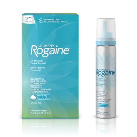 Free Rogaine Foam for Women (Salon Workers)