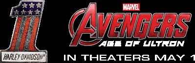Free Harley Davidson Avengers Sticker