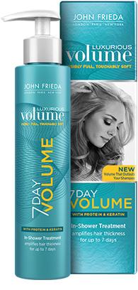 Free John Frieda Luxurious Volume 7 Day Volume Sample ...