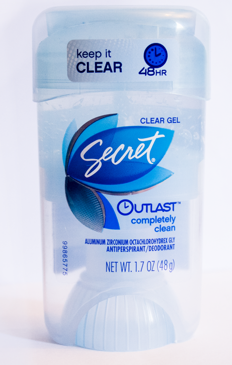 Free Secret Outlast Clear Gel Sample
