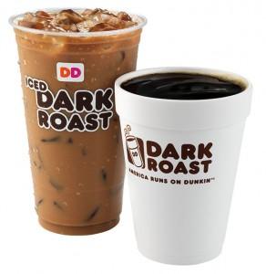 FOR SUNDAY FEATURES -Dunkin Donuts DARK ROAST - HANDOUT
