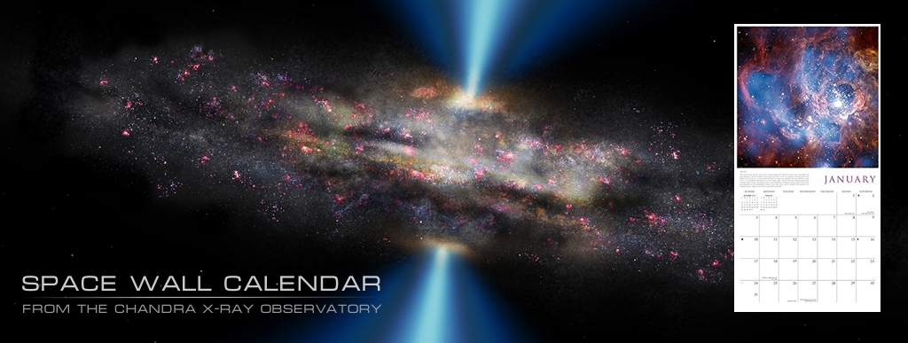 X Ray Calendar : Free chandra ray observatory space wall calendar