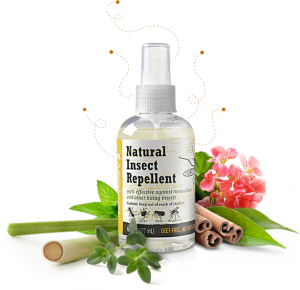 FREE Natural Insect Repellent.