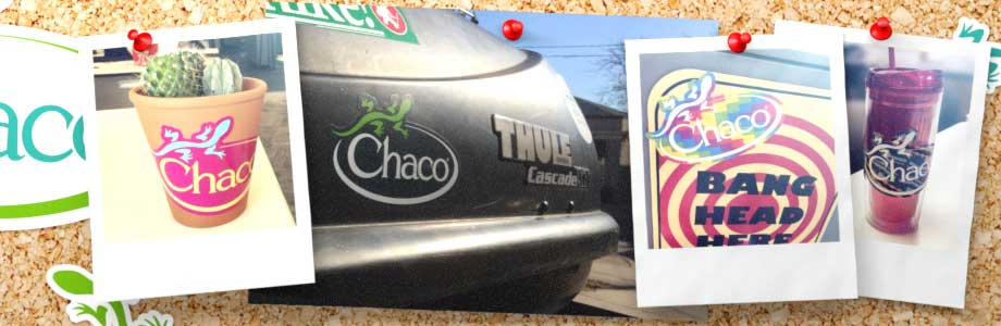 Free Chaco Sticker - SweetFreeStuff com